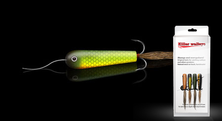Killer walleye, fishing gear  color 5